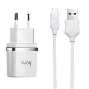 شارژر Hoco C12 Micro cable