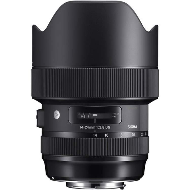 لنز سیگما Sigma 14-24mm for Nikon F