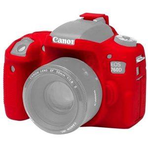 کاور ژلهای Canon 760D رنگ قرمز
