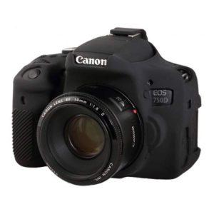 کاور ژلهای Canon 750D رنگ مشکی