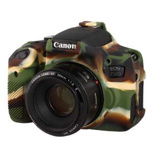 کاور سیلیکونی Canon 750D رنگ استتار