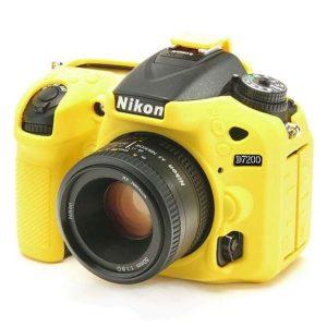 کاور سیلیکونی نیکون D7200 رنگ زرد