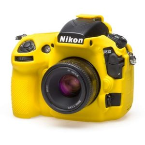 کاور سیلیکونی Nikon D810 SiliconCover رنگ زرد