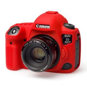 کاور دوربین ژله ای قرمز Canon Eos 5D Mark IV cover
