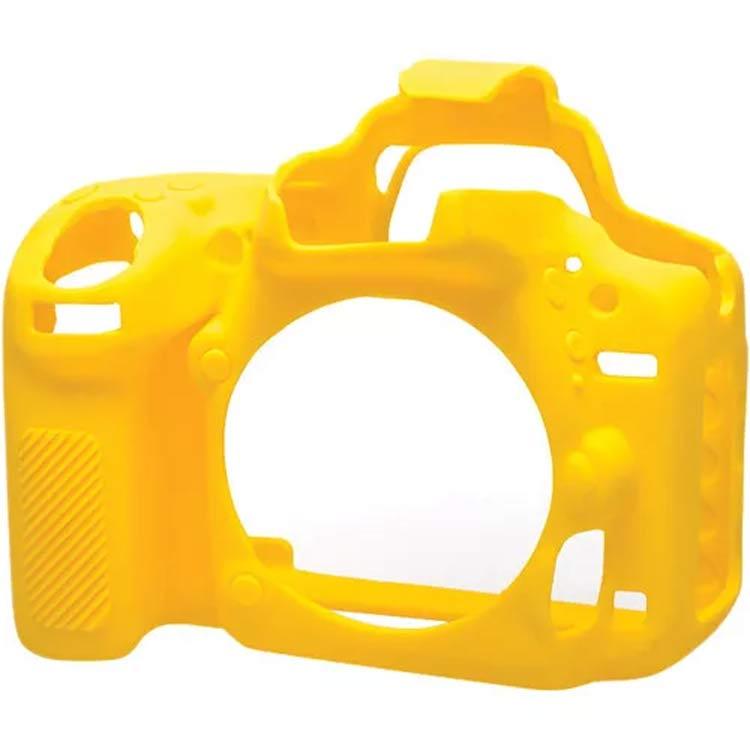 کاور سیلیکونی Nikon D5500 SiliconCover رنگ زرد