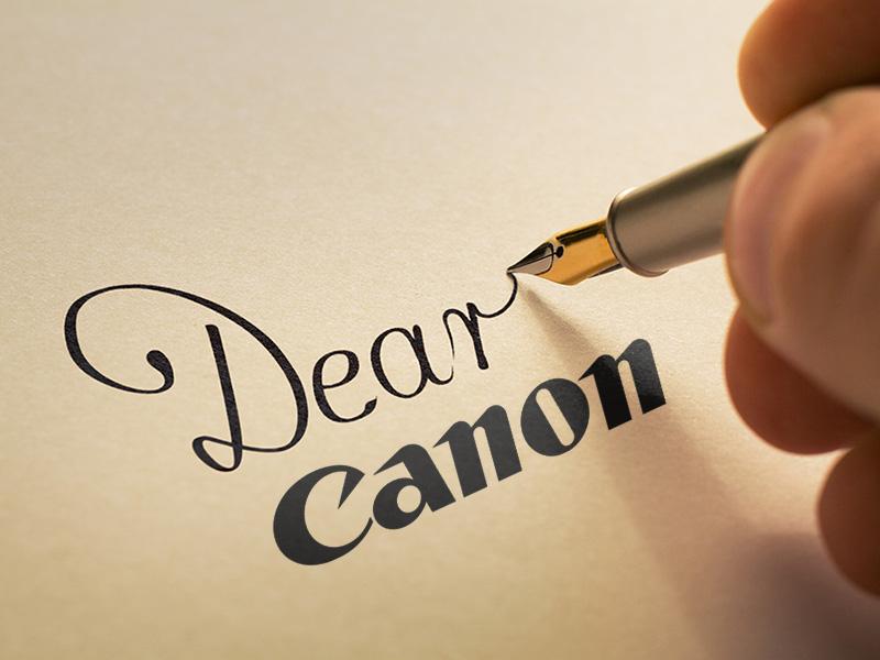 یک نامه سرگشاده به کانن