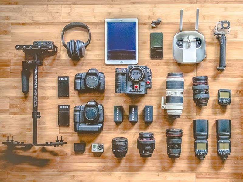با برند تجهیزات عکاسی بیشتر آشنا شوید