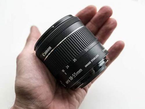 لنز کانن EF-S 18-55mm f/4-5.6 IS STM
