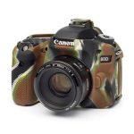 کاور سیلیکونی Canon 80D SiliconCover رنگ استتار