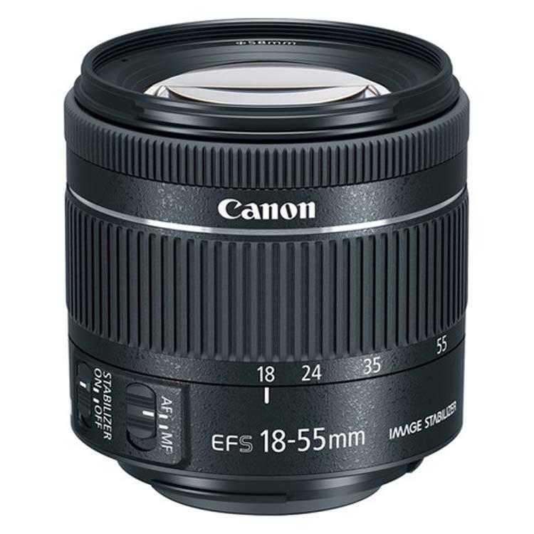 لنز کانن Canon EF-S 18-55mm f/4-5.6 IS STM No Box |