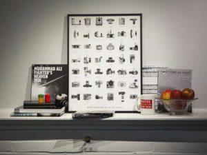 نمایش سیرتکاملی دوربینهای عکاسی با تصاویر X-Ray