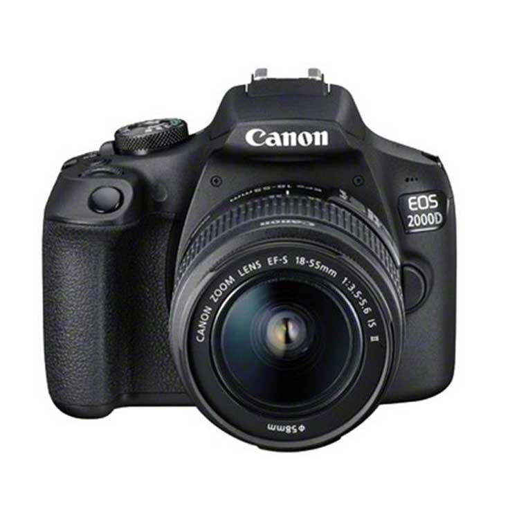 دوربین عکاسی کانن Canon EOS 2000D kit EF-S 18-55mm IS II |