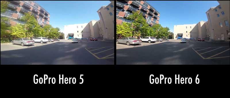 hero 6 و hero5