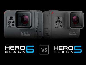 مقایسه دوربینهای hero 6 و hero5