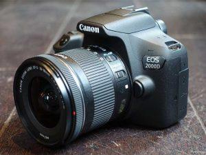 بررسی عکسهای گرفتهشده با EOS 2000D کانن