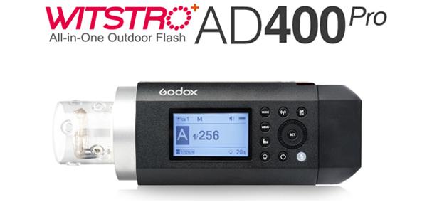 فلاش پرتابل گودکس AD400 Pro