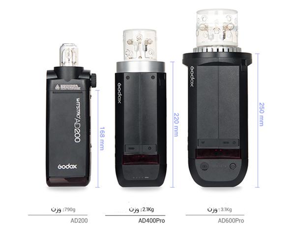 خرید فلاش پرتابل گودکس AD400 Pro