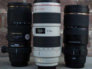 مقایسه لنزهای ۷۰-۲۰۰ میلیمتر در کانن و سیگما و تامرون