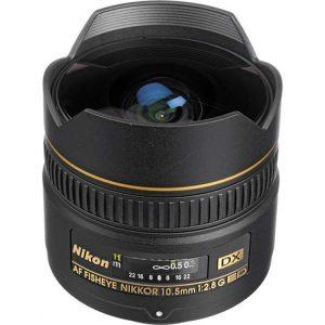 لنز نیکون AF10.5mm f/2.8G ED DX VR
