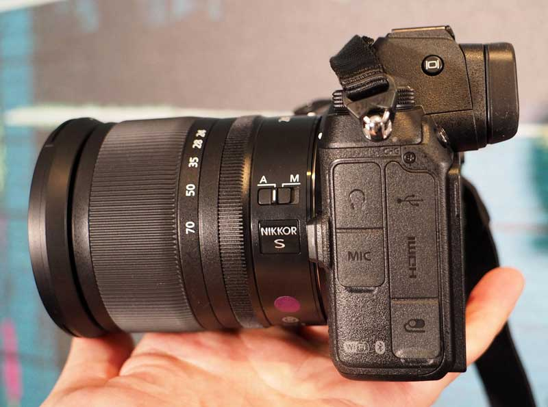 دوربین بدونآینه نیکون Z7