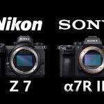 سونی A7R III و نیکون Z7