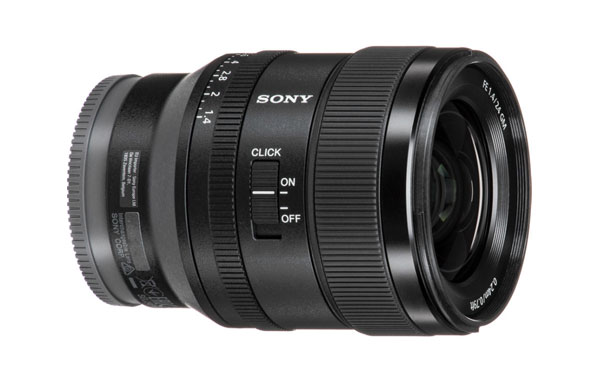 مشخصات لنز سونی Sony FE 24mm F1.4 GM