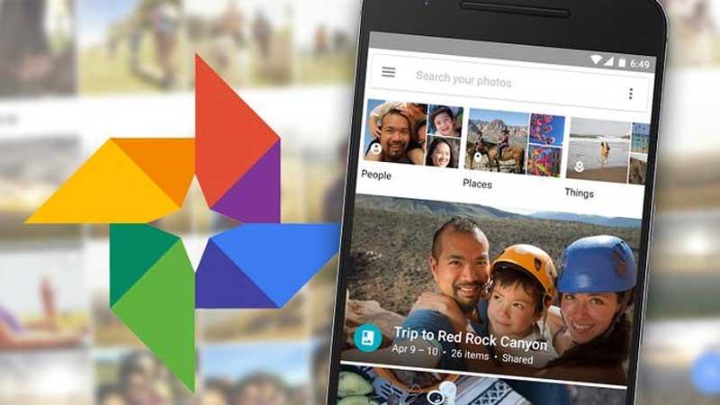 نرمافزار Google Photos