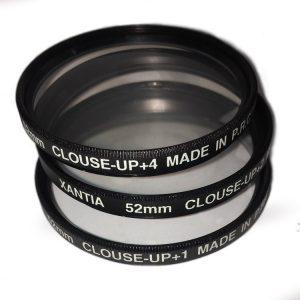 فیلتر عکاسی XANTIA Close Up 52mm Filter Set