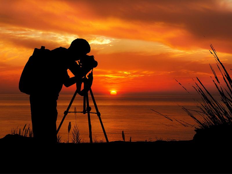 تنظیمات دوربین برای عکاسی از غروب پاییز
