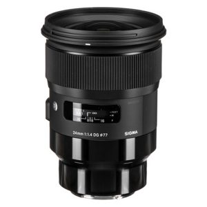 لنزسیگما 24mm f/1.4 DG HSM Art for Sony E