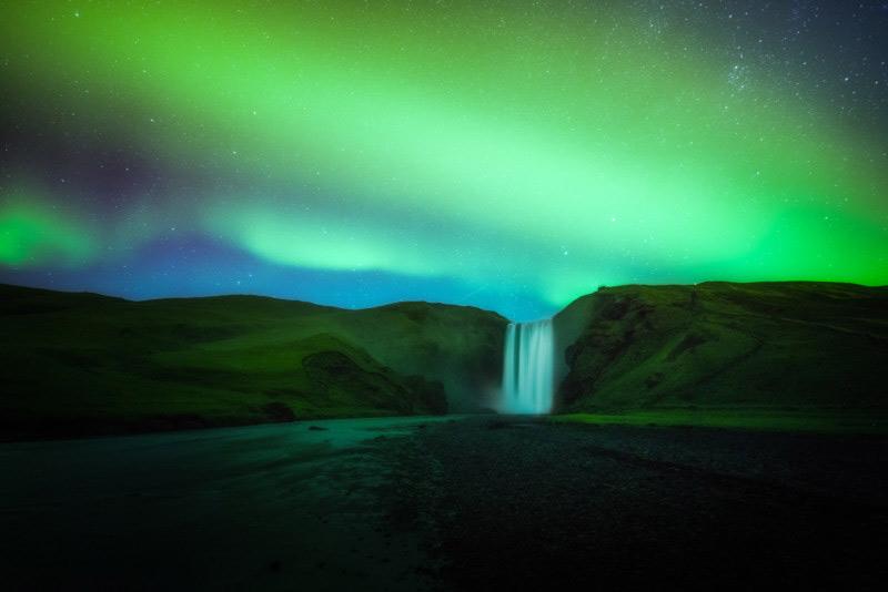 عکاسی از شفق قطبی