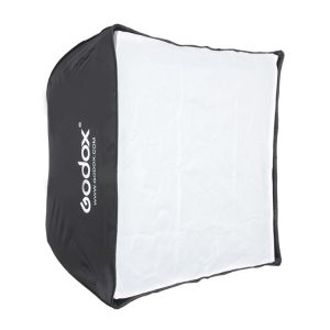 سافت‌باکس چتری گودکس Godox Portable 50x50cm Softbox for Speedlite