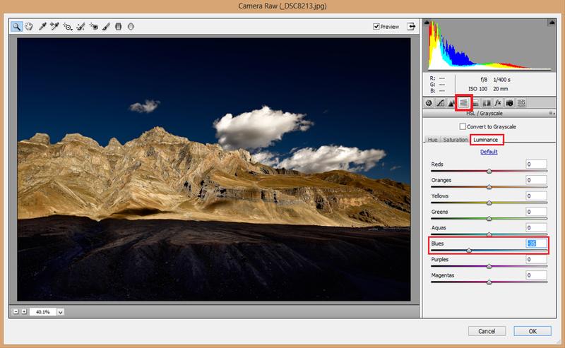 کنتراست در نسخه CC فتوشاپ