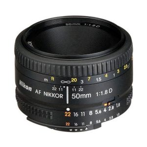 لنز نیکون AF Nikkor 50mm f/1.8D دست دوم