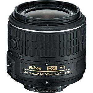 لنز نیکون AF-S18-55mm VR II دست دوم