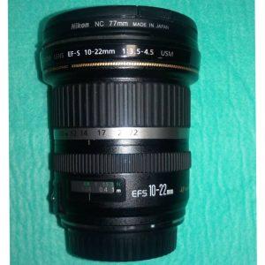 لنز کانن Canon EF-S 10-22mm f/3.5-4.5 USM