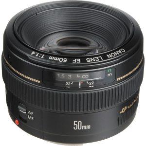 لنز کانن EF 50mm USM دست دوم