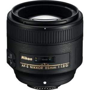 لنز کانن AF-S Nikkor 85mm دست دوم