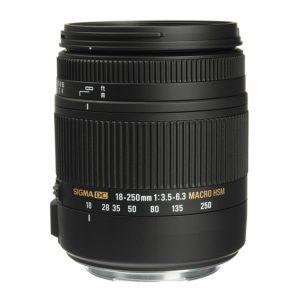 لنز سیگما Sigma 18-250mm F3.5-6.3 DC Macro OS HSM for Canon EF