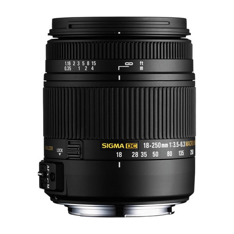 لنز سیگما Sigma 18-250mm برای نیکون