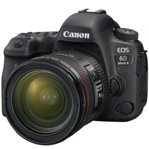 دوربین کانن 6D mark II با لنز 70-24