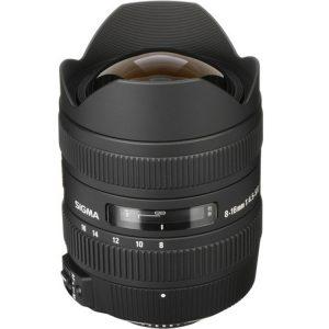 لنز سیگما Sigma 8-16mm برای نیکون