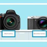 مقایسه دوربین بدون آینه با DSLR