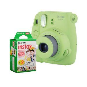 دوربین چاپ فوری فوجی instax mini9 به همراه کاغذ
