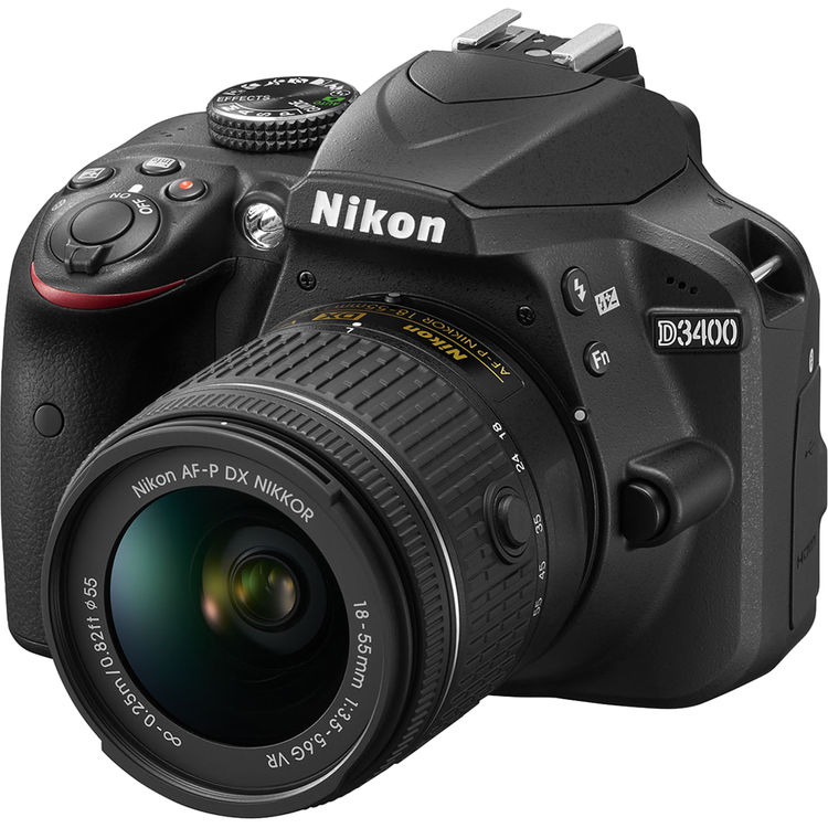 دوربین نیکون Nikon D3400 kit دست دوم