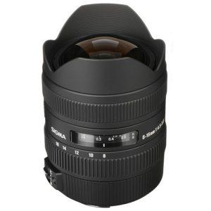 لنز سیگما Sigma 8-16mm برای کانن