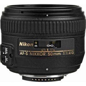 لنزنیکون AF-S 50mm f/1.4G دست دوم