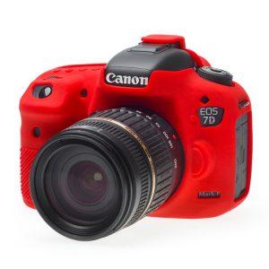 کاور سیلیکونی دوربین Canon 7DII قرمز