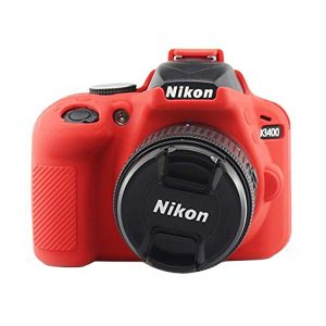 کاور ژلهای Nikon D3400 رنگ قرمز