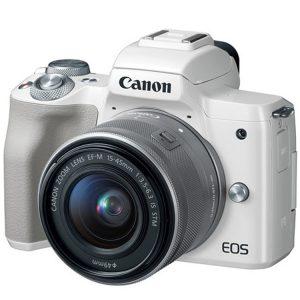 دوربین کانن M50 kit 15-45mm سفید